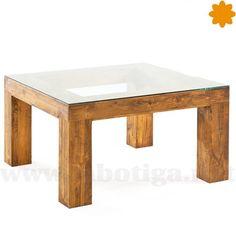 Mesa hecha con postigos y puertas recicladas de pino for Mesa 8 comensales