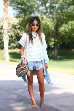 Coachella Fashion 2014 - Street Style Photos from Coachella Music Festival - Harper's BAZAAR