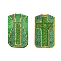 Beautiful #roman #chasuble with rich golden orphery and IHS motif