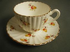 Vintage Radford Bone China Tea Cup Saucer