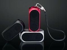 This speaker won the 2014 Red Dot Design Award.