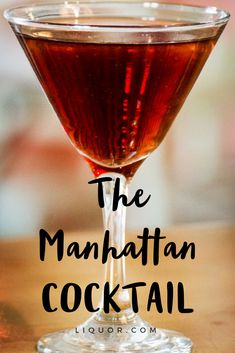This #Manhattan is the #easy #classic #cocktail you should be making now