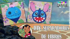 DIY: Separadores de Libros l Lilo&Stitch