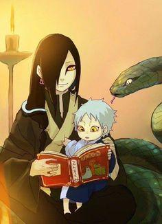 Orochimaru & Mitsuki || Boruto: Naruto Next Generations / #anime