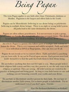 <3 Being Pagan