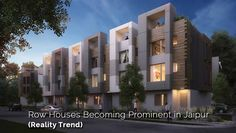 Reality Trend: Row Houses Becoming Prominent in Jaipur