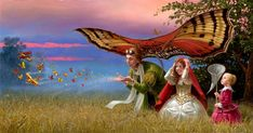 Promises of the Parting Summer  2013  -  Michael Cheval