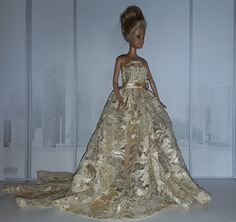 Barbie Evening Gown Evening Gowns, Barbie, Formal, Diy, Style, Fashion, Creative Crafts, Creativity, Evening Gowns Dresses