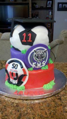 Erica's Graduation cake!!!!!