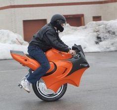 Unicycle motorcycle - cool