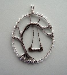 Wire Wrapping with Beads