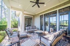Outdoor Living | Spacious Deck | Backyard Seating Ideas | Luxury Real Estate Bluffton, South Carolina | Lowcountry Living