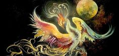 """Legends of the Middle East, Lord of the birds in Sufism and Miniature Art """"Simorgh سیمرغ"""""""