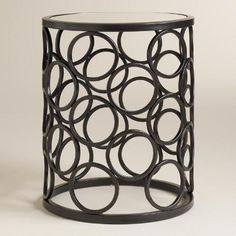 One of my favorite discoveries at WorldMarket.com: Julius Drum Accent Table
