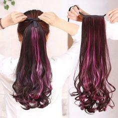 Extensiones de cabellos de COLORES: 8 Diseños espectaculares! – 2017 – LosCortesDePelo.com