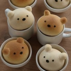 #Bear #Breads in Mugs