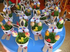 Boberkowy World - Frühling - Projets Diy Easter Projects, Easter Art, Bunny Crafts, Easter Crafts For Kids, Basket Crafts, Easter Activities, Camping Crafts, Mothers Day Crafts, Spring Crafts