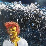 Painting by Senghor Reid