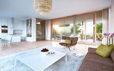 Eine hochwertige #Ausstattung sorgt in allen Wohnungen für ein stilvolles Wohngefühl.