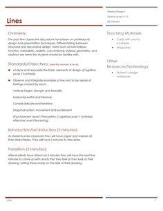 Housing U0026 Interior Design Lesson Plans   Family U0026 Consumer Sciences  Education