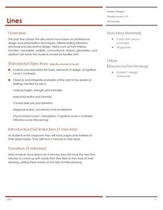 Housing & Interior Design Lesson Plans - Family & Consumer Sciences Education