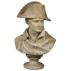 Bust of Napoleon | From a unique collection of antique and modern sculptures at http://www.1stdibs.com/furniture/more-furniture-collectibles/sculptures/