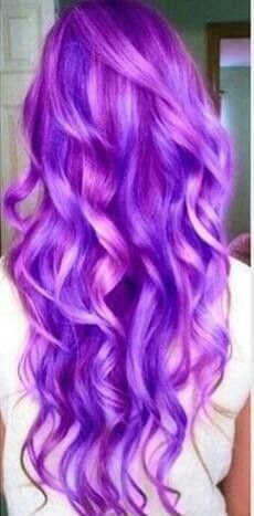 Purple with highlights