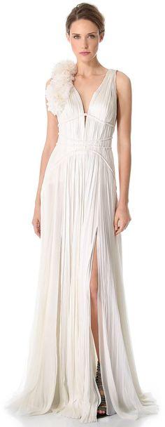 Pin for Later: Les Meilleures Robes de Mariée du Web  J Mendel Robe Sans Manches (6,365€)
