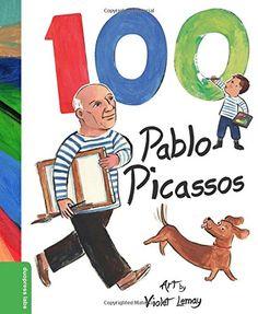 100 Pablo Picassos: Violet Lemay, duopress: 9781938093326: Amazon.com: Books
