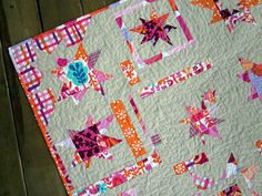 sparkle punch wonky stars quilt | stars fr kiki s sailboats baby web star together especially