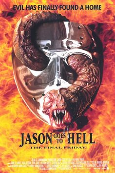 Jason Goes to Hell: The Final Friday 11x17 Movie Poster (1993)