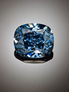 The Blue Moon diamond: The 12-carat, internally flawless, blue diamond was cut and polished from a 29.6-carat, blue rough diamond recovered by Petra Diamonds at the Cullinan mine in South Africa in January 2014. The stone has been polished by Cora International which purchased the diamond for $25.6 million, or $864,865 per carat earlier this year.