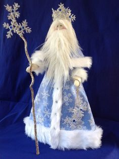 Cloth Doll E-Pattern Old Man Winter 21 1/2 от FruitfullHands
