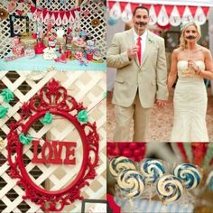 14 unique wedding themes - Hunger Games, steampunk, vintage carnival and more!