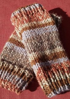 PDF Knitting Pattern for Short or Long Handwarmers by Shelleden, $3.50