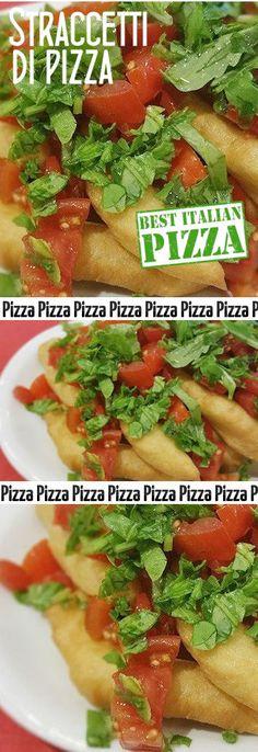 Straccetti di pizza con pomodorini