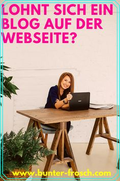 Arbeitest du professionell mit Tieren und möchtest sichtbarer für potenzielle Kunden werden? Dann ist ein Blog vielleicht das richtige für dich. Egal ob du als Tierarzt, Tierheilpraktiker, Tierenergetiker, Trainer, Hundefriseur usw. dein Marketing verbessern möchtest, mit einem Blog kannst du mehr potenzielle Kunden auf deine Website bringen. Aber lohnt sich das für dich? Die Antwort findest du in unserem Blogartikel! #tierarztmarketing #tierbusiness #pferdebusiness #bunterfrosch Business Tips, Online Business, Green Business, Best Home Office Desk, Health Coach, Starting A Business, Extra Money, Hemp, Home Goods