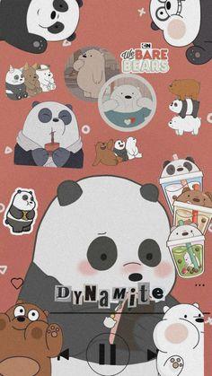 Panda Wallpaper Iphone, Cute Panda Wallpaper, Flower Phone Wallpaper, Cute Wallpaper For Phone, Iphone Wallpaper Tumblr Aesthetic, Bear Wallpaper, Cute Patterns Wallpaper, Cute Disney Wallpaper, Galaxy Wallpaper