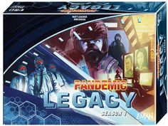 Amazon.com: Pandemic Legacy Blue Board Game: Toys & Games