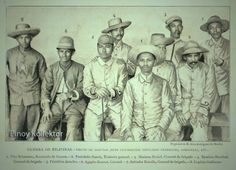 Generals and Colonels of the Philippine Insurrection Vito Belarmino… Philippine Army, Boxer Rebellion, Filipiniana, Cultural Studies, Rough Riders, Freemasonry, American War, Spanish Colonial, Military History