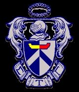 Crest of Sigma Tau Gamma. Supporting my love, while attempting to draw this!
