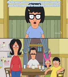 ♡ Pastel soft grunge aesthetic ♡ ☹☻ Tina from Bob's Burgers Tina Belcher Bobs Burgers Funny, Tina Belcher, Funny Memes, Hilarious, American Dad, Tv Quotes, Futurama, Best Shows Ever, Best Tv