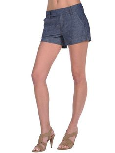 10 Soft Denim Shorts for Easy Style This Summer: Raven Mae Chambray Denim Shorts