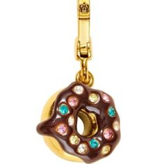 Juicy Couture doughnut charm.