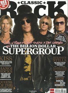 (via Glenn Hughes) Cover story on Kings Of Chaos in the new edition of Classic Rock Magazine... GH