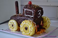 Gâteau tracteur!