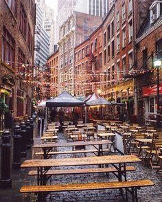 Stone St Financial District by @pankratova916 #newyorkcityfeelings #nyc #newyork