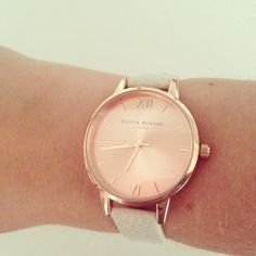 dec5361d1369 Olivia Burton - Big Dial Watch with Brown Leather Strap