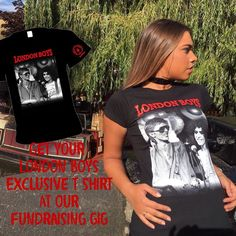 1 Week to go... This GLAMtastic LONDON BOYS shirt is available in Mens and Ladies styles at our gig NEXT SATURDAY afternoon join us and help build The Marc Bolan School Of Music http://ift.tt/2aMo3lu  #marcbolan #davidbowie #glamrock #bandmerch #rockshirt #londonboys #fundraiser #rocknroll #camden #london #70smusic #charity #chancetodance #lightoflove #wecanbeheroes #tickets