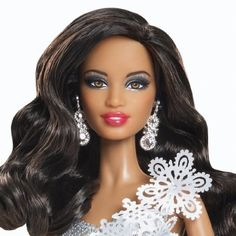 For this great price, the Barbie Collector 2013 Holiday African-American Doll is…